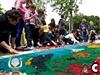 Mostra infantil de Catifes de Flors del Corpus